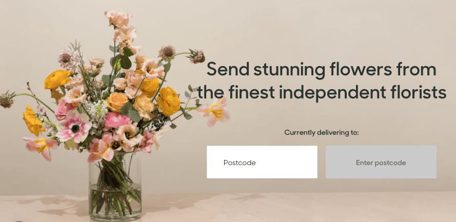 استارتاپ ارسال گل