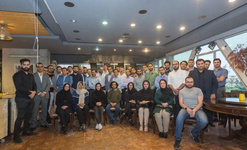 سومین دورهمی پرتفو شرکت توسعه کارآفرینی بهمن