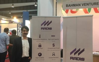 شرکت رادیس در نمایشگاه بازسازی سوریه